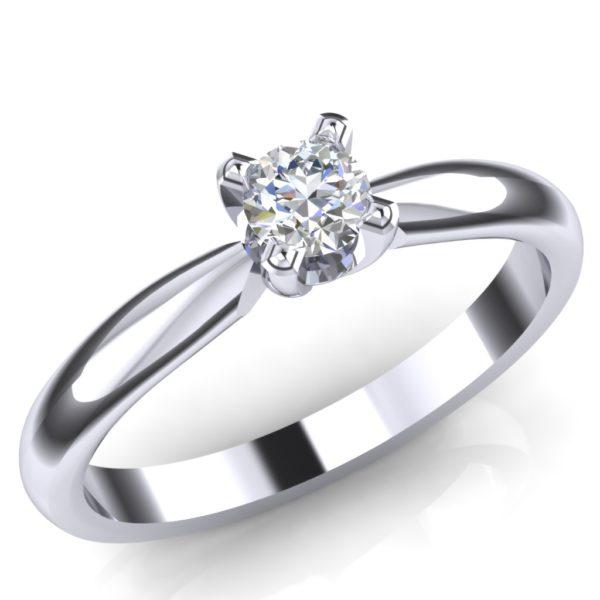 Prsten sa jednim dijamantom