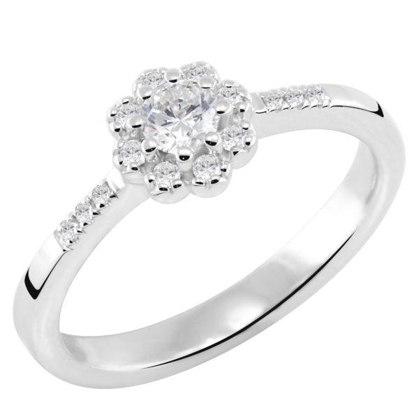 Dijamantski prsten cvet