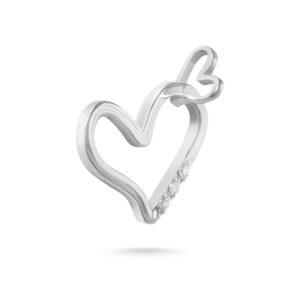 Privezak u obliku srca