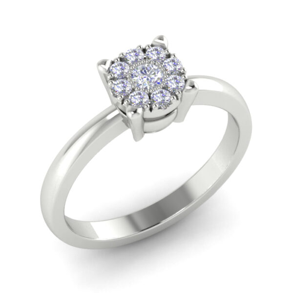 Zlatni prsten sa brilijantima