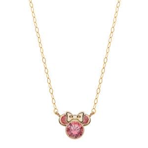 Diskretna Minnie ogrlica za decu