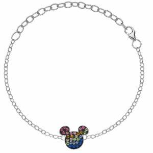 Mickey narukvica od srebra