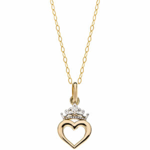 Disney ogrlica srce