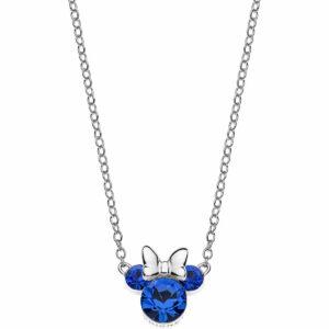 Ogrlica sa plavim kristalima